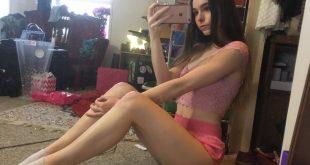 Selfie sexy chambre